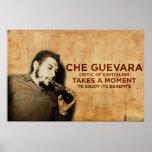 Che Guevara - Critic of Capitalism Poster