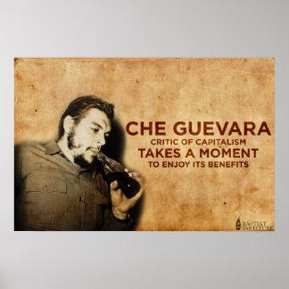 Che Guevara - crítico del capitalismo Póster