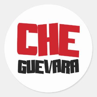 Che Guevara Design Classic Round Sticker