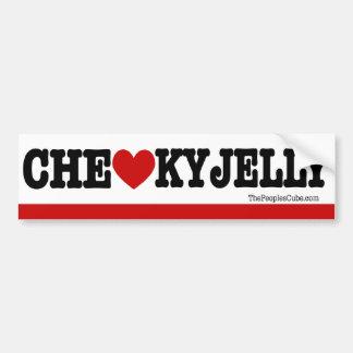 Che Guevara - el corazón KY de Che gelatina: Pegatina Para Auto