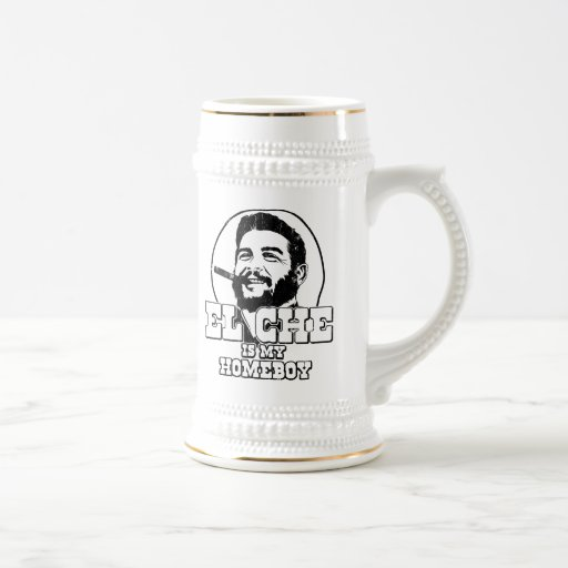 Che Guevara es mi Homeboy Tazas