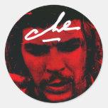 Che Guevara Etiquetas Redondas