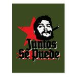 Che Guevara Juntos Se Puede Quote Together We Can Postcard