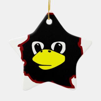 che guevara linux tux penguin ceramic ornament
