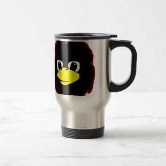 che guevara linux tux penguin 15 oz stainless steel travel mug