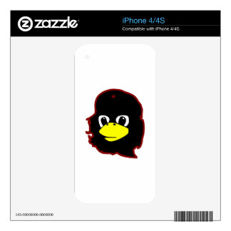 che guevara linux tux penguin skins for the iPhone 4