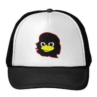 che guevara linux tux penguin trucker hat
