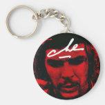 Che Guevara Llavero Redondo Tipo Pin
