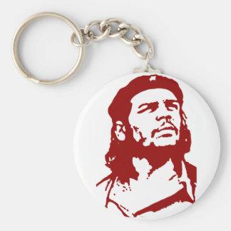 Che Guevara. Llavero Redondo Tipo Pin