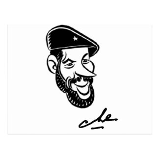 Che Guevara Postcard