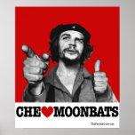 Che Guevara - poster de Moonbats del corazón de Póster