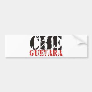 Che Guevara Products & Designs! Car Bumper Sticker