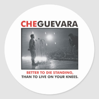 Che Guevara Products & Designs! Classic Round Sticker