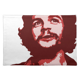 che guevara smile cloth placemat