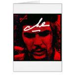 Che Guevara Tarjeta De Felicitación