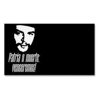 Che Guevara Tarjetas De Visita Magnéticas (paquete De 25)
