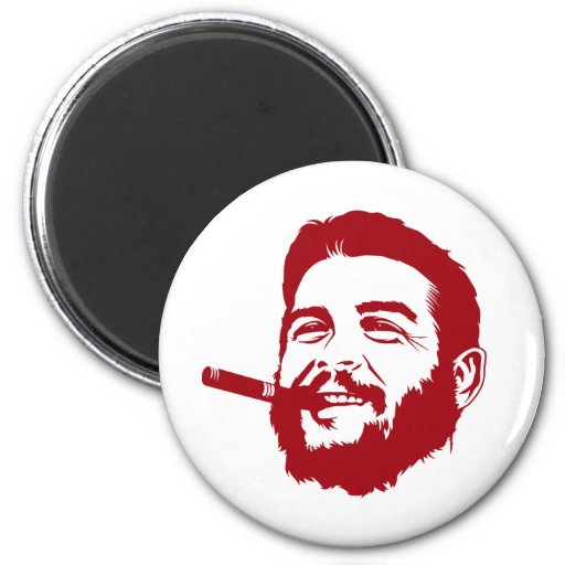Che Guevara with Cigar Portrait Magnet