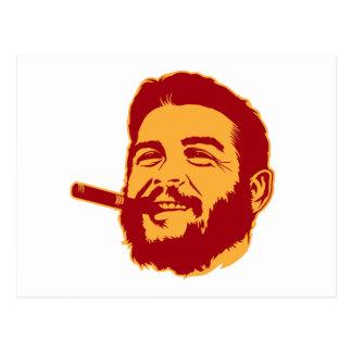 Che Guevara with Cigar Portrait Postcard