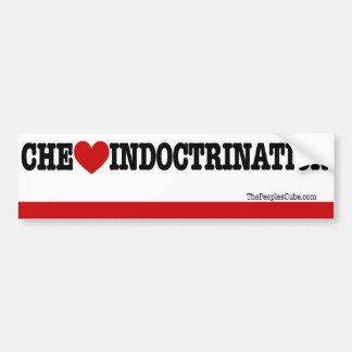 Che Guvara - Che Heart Indoctrination: BumperStick Car Bumper Sticker