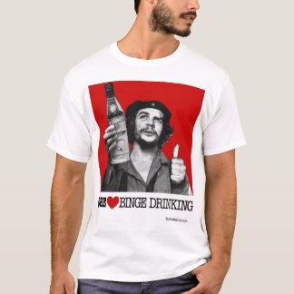 Che Heart Binge Drinking T-Shirt