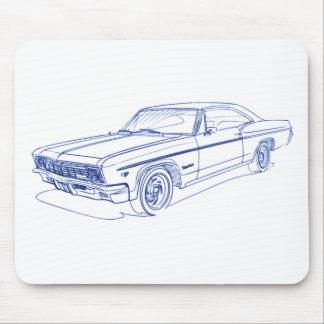 Che Impala 1966 SS Mouse Pad