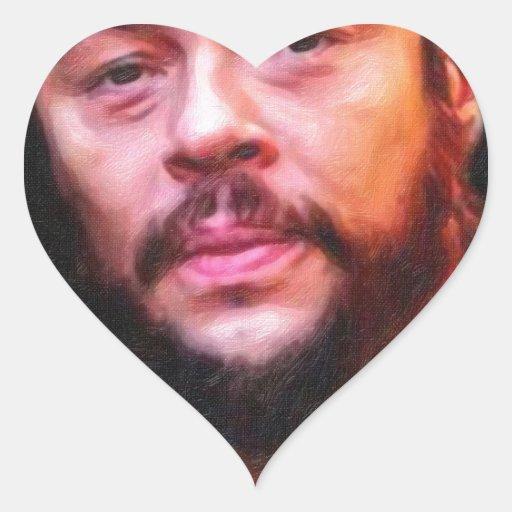 che.jpg pegatina en forma de corazón