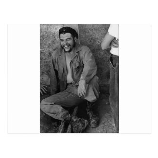 Che laughing postcards