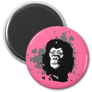 Che Monkeyvara 2 Inch Round Magnet