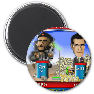 Che O and Romney 2 Inch Round Magnet