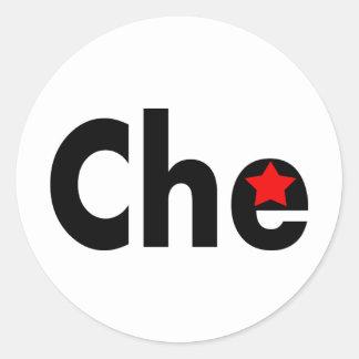 Che Revolution Designs! Classic Round Sticker