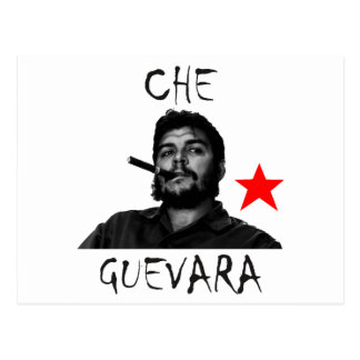 Che smoking postcard