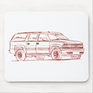 Che Suburban 2004 Mouse Pad