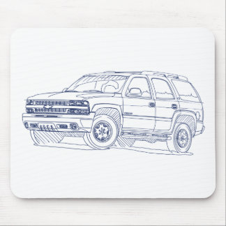 Che Tahoe 2000-2006 Mouse Pad