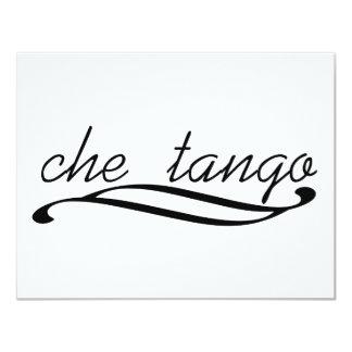 Che Tango exclusive design! 4.25x5.5 Paper Invitation Card