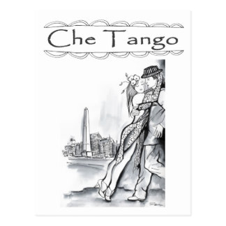Che Tango in Buenos Aires Postcard