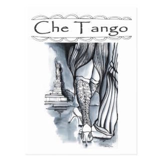 Che Tango in New York Postcards