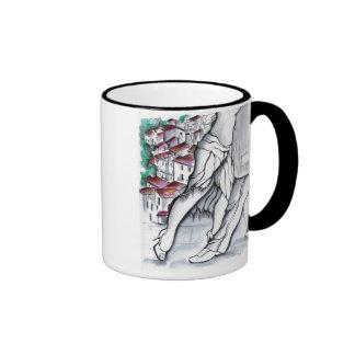 Che Tango in Pueblos Blancos Ringer Mug