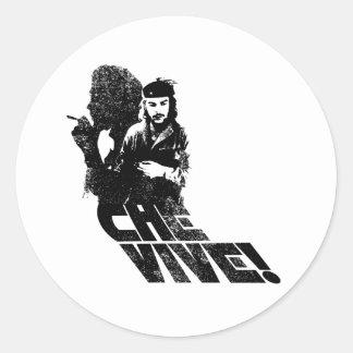 Che Vive! Classic Round Sticker