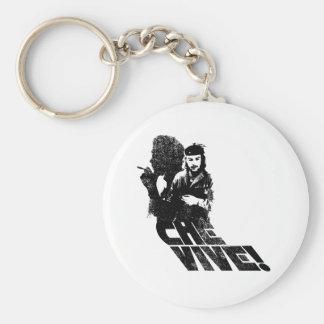 Che Vive! Basic Round Button Keychain