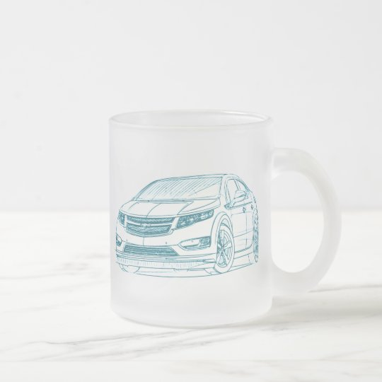 Che Volt 2011 Frosted Glass Coffee Mug