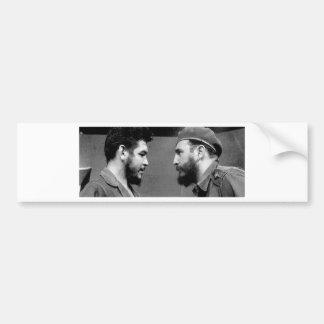 Che-y-Fidel Pegatina Para Auto