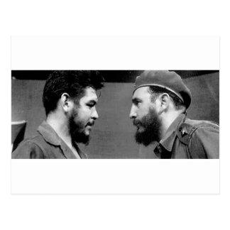 Che-y-Fidel Postales