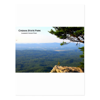CHEAHA STATE PARK - ALABAMA S HIGHEST POINT POSTCARDS