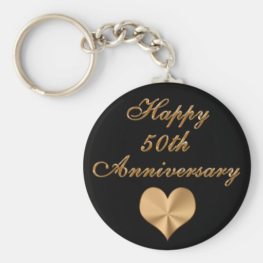 Cheap 50th Wedding Anniversary Gifts Keychains Key Chain