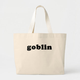Cheap and Generic GOBLIN T shirt Large Tote Bag