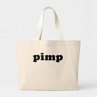Cheap and Generic PIMP T shirt Large Tote Bag