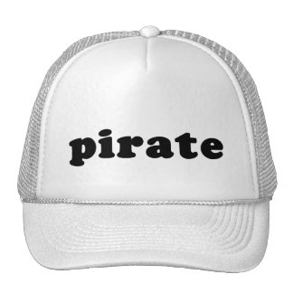 Cheap and Generic PIRATE T shirt for Halloween Trucker Hat