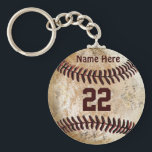 "Cheap Baseball Keychains NAME, NUMBER for TEAM<br><div class=""desc"">BULK Discounts or buy 1 CHEAP Rustic Personalized Baseball Team Gifts in Bulk or One for Under $5.00. Save even more when you buy 10 or more for bulk baseball keychain discounts. OR Change to the Premium Silver colored Keychains in Large or Small sizes for special senior night baseball gifts...</div>"