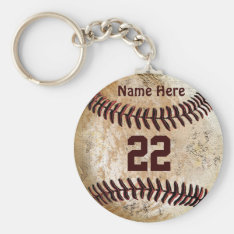 Cheap Baseball Keychains Name, Number For Team at Zazzle