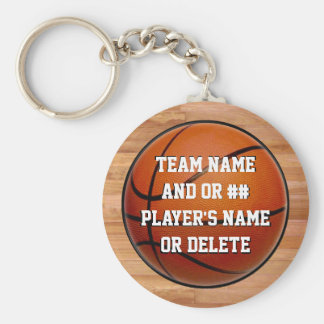 Cheap Basketball Gifts for Kids, Personalized Keychain